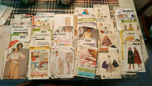 Vintage Sewing Patterns 50's - 70's