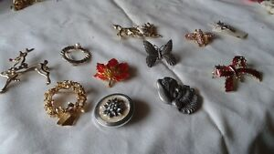 large assortment of costume jewellery and old watches