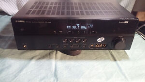 Yamaha HTR-3063 DTS receiver with speakers