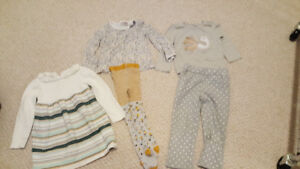 snow suit and clothes (all brand names) 3T