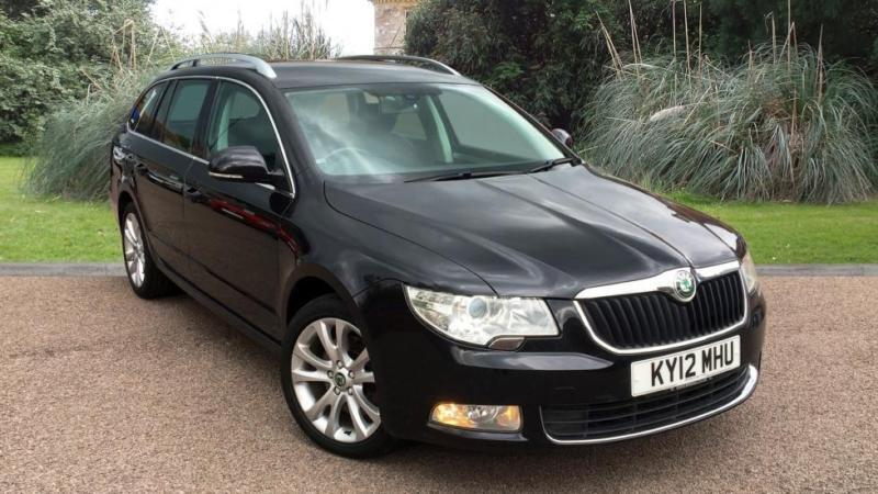 Skoda Superb 2.0TDI CR ( 170ps ) SE BLACK ESTATE MANUAL DIESEL
