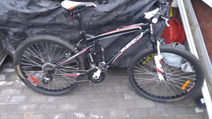 Kranked 21 speed mountain bike