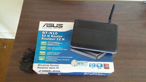 Asus RT-N10 802.11n Wireless Router w/ dd-wrt