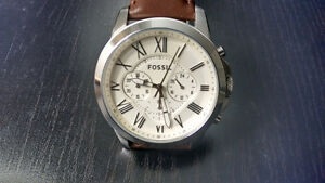 Fossil Men's FS4735  Analog Quartz Brown Watch