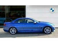 2020 BMW 4 Series 420i M Sport 2dr Auto [Professional Media] Petrol Convertible