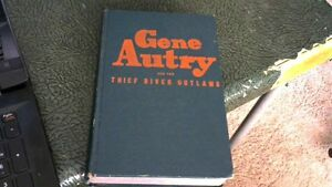 VINTAGE 1944 GENE AUTRY and the THIEF RIVER OUTLAWS