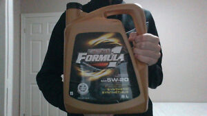 Motomaster Formula 1 Synthetic SAE 5w-20 Oil
