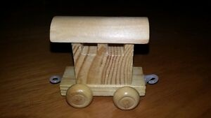 NEW Wooden Trains Kids Loot bags party favors school dental $.25