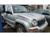 Jeep Cherokee 3.7 V6 auto Limited - 2003 03-REG - FULL 12 MONTHS MOT