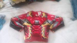 Size 2-4 Iron Man shirt costume with lights!