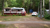 Fifth Wheel 31.5 pied avec loft. Camping Quebecamp.