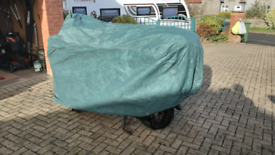 Motorcycle outdoor winter cover