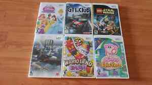 Wii games ($15 each or 2 for $25)
