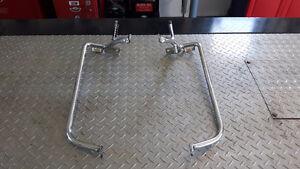 Chrome Bag Bars for Harley