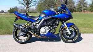 Sv650 well maintained low km