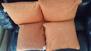 4 Piece Couche Pillows for Sale
