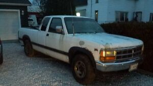 1996 DODGE DAKOTA  *****V-8 5 SPEED MANUAL, RWD*****