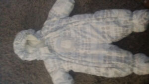 Baby snow suit size 3 months