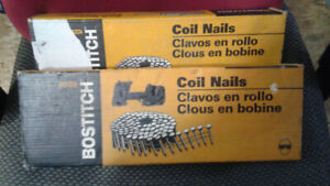 bostitch 2 1/4 '' spiral framing nails ( 6 coils )