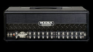 "10/10  Mesa Roadster Head and 2x12"" V30s Mesa Horizontal Cabinet Kitchener / Waterloo Kitchener Area image 4"