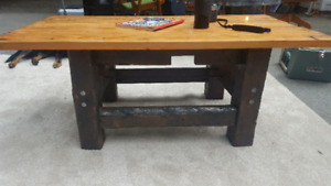 One of a Kind Reclaimed Wood Coffee Table