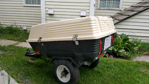 Motorcycle Trailer, Hitch