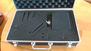 Helicopters and controllers in cases and parts
