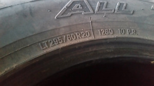 Used Nitto Terra Grapplers