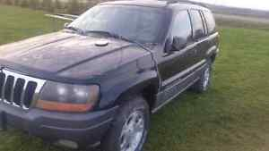 2001 Jeep Grand Cherokee  (2 for parts)