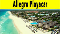 ONE WEEK FOR TWO AT ALLEGRO PLAYACAR IN RIVIERA MAYA, MEXICO