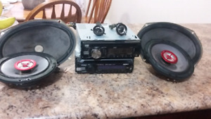 Car stereo with speakers for sale