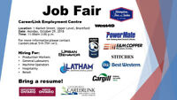 JOB FAIR AT CAREERLINK EMPLOYMENT CENTRE - OCT. 29