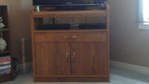 TV Wall Unit & TV Stand for Sale - both Solid Wood