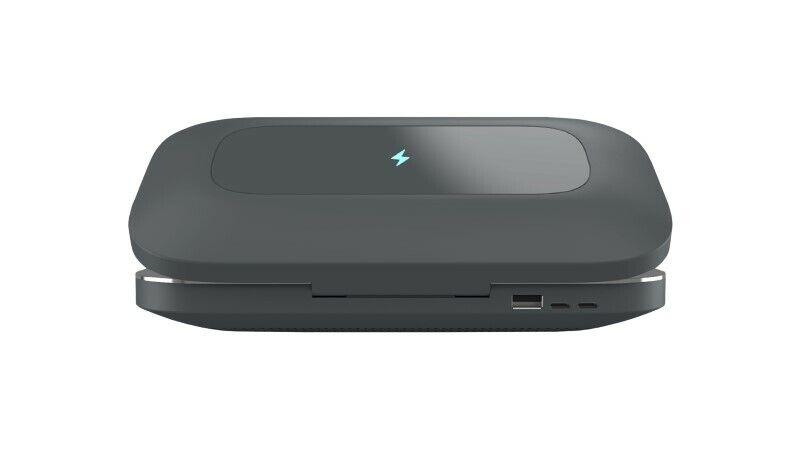 PhoneSoap Pro UV Sanitizer - Charcoal