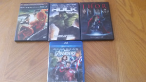Marvel DVDs & BLU-RAY - Need to go ASAP