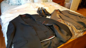 2 Suits/4 shirts/ 1 Pair size 10 Shoes