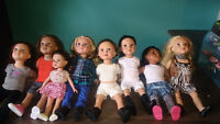 18'' dolls and loads of stuff (except one doll) Moncton New Brunswick Preview
