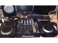 Pioneer djm750k mixer like new