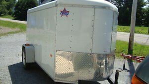 2011 trail master enclosed 10 x 5 plus v nose mint condition