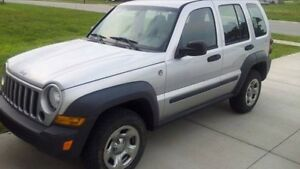 looking  to trade  jeep liberty  2006   for  pick  up