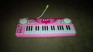 Barbie Guitar and Piano and Barbie hair/accessories
