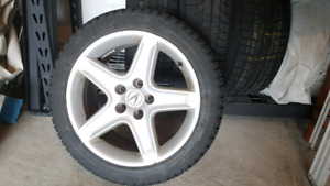 Acura TL Alloy Wheels and Winter Tires  for sale