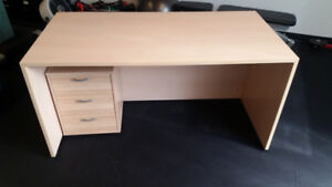 Large Desks with drawer unit (2 sets available)