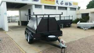 8x5 BUILDERS TRAILER | 600MM TRADESMAN TOP | TANDEM | TRAILERS Cairns Cairns City Preview