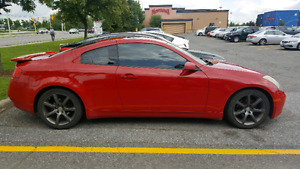 Infiniti G35 Coupe excellent condition with very low milage
