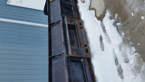 Snow Pusher, 10 foot Erskine with poly cutting edge Kitchener / Waterloo Kitchener Area image 3