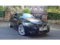 58 BMW 325D 3.0 M SPORT AUTO LCI SALOON 77000 LOW MILES ONLY PADDLE SHIFT GEARS