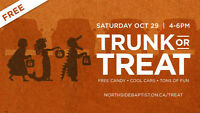 Trunk or Treat – Free halloween event