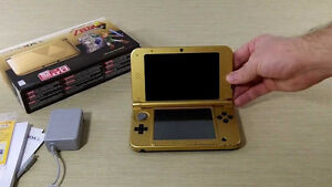 Nintendo 3DS XL The Legend of Zelda Gold Limited Edition Console