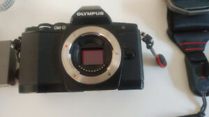 Olympus OM-D E-M5 camera for sale